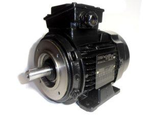 silniki elektryczne - mocowanie łapowo-kołnierzowe B3/B14
