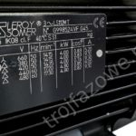 Silnik elektryczny trófjazowy Leroy Somer 4 kW 1500 obr